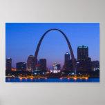 Horizonte de St. Louis Poster