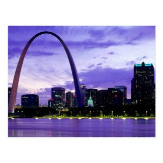 Horizonte de St. Louis Tarjetas Postales