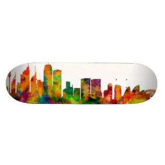 Horizonte de Sydney Australia Tablas De Skate
