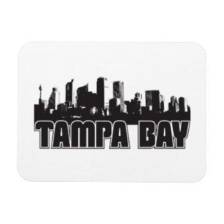 Horizonte de Tampa Bay Iman Rectangular