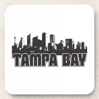 Horizonte de Tampa Bay Posavasos De Bebida