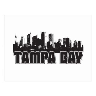 Horizonte de Tampa Bay Tarjeta Postal