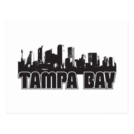 Horizonte de Tampa Bay Tarjetas Postales