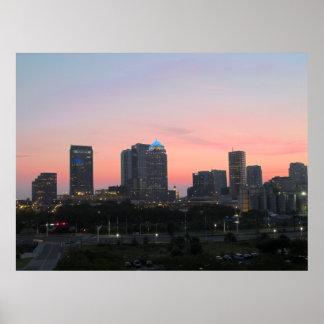 Horizonte de Tampa Póster