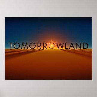 Horizonte de Tomorrowland Póster