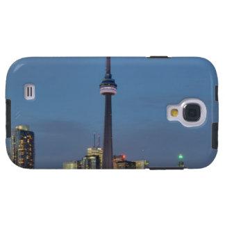 Horizonte de Toronto en la noche Funda Para Galaxy S4
