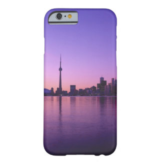 Horizonte de Toronto en la noche, Ontario, Canadá Funda De iPhone 6 Barely There