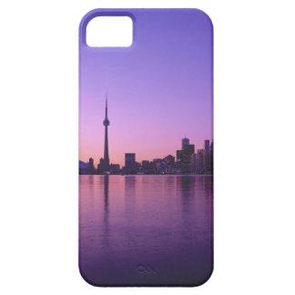 Horizonte de Toronto en la noche, Ontario, Canadá iPhone 5 Carcasa