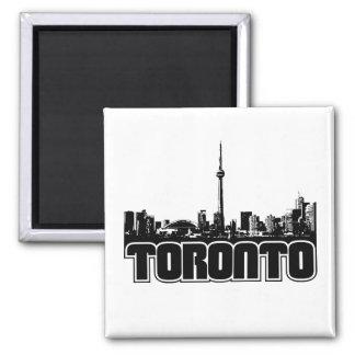 Horizonte de Toronto Imán Cuadrado