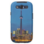 Horizonte de Toronto Ontario Canadá en la noche Galaxy S3 Cárcasa