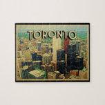 Horizonte de Toronto Rompecabeza Con Fotos