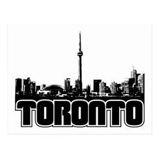 Horizonte de Toronto Postales