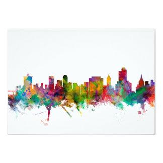 Horizonte de Tulsa Oklahoma Invitacion Personalizada