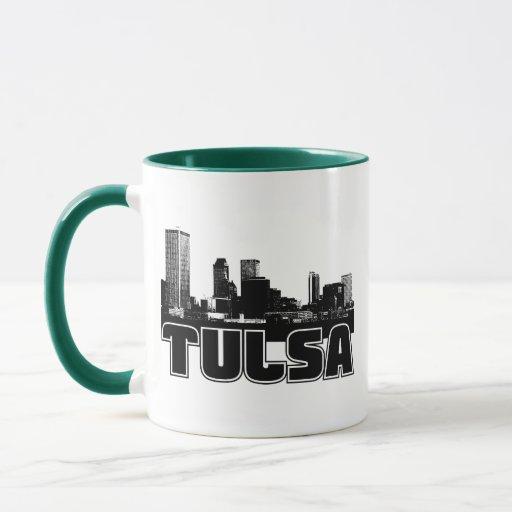 Horizonte de Tulsa Taza