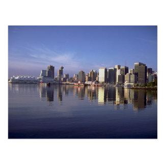 Horizonte de Vancouver, Columbia Británica, Canadá Tarjeta Postal