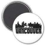 Horizonte de Vancouver Imán Redondo 7 Cm