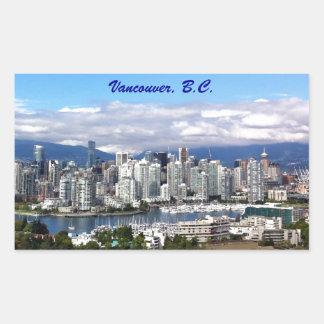 Horizonte de Vancouver Rectangular Altavoz