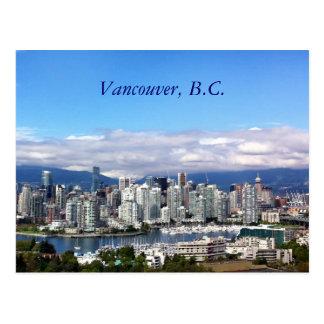 Horizonte de Vancouver Tarjetas Postales