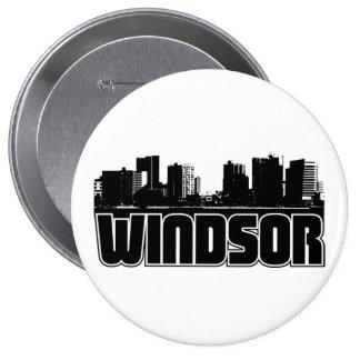 Horizonte de Windsor Pin Redondo De 4 Pulgadas