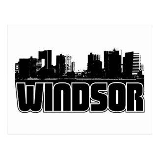 Horizonte de Windsor Tarjetas Postales