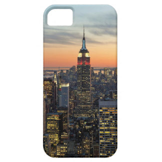 Horizonte del amanecer de Nueva York iPhone 5 Fundas