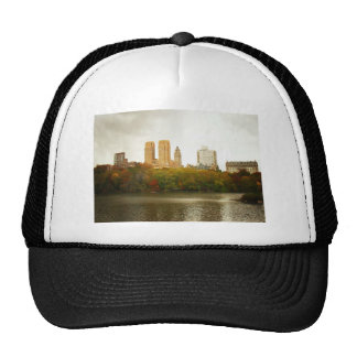 Horizonte del Central Park, New York City Gorras