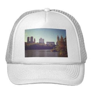 Horizonte del Central Park, verano tardío, New Yor Gorras