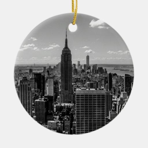 Horizonte del Empire State Building de New York Adorno De Reyes