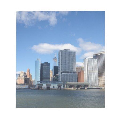 Horizonte del Lower Manhattan Bloc