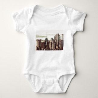 Horizonte del Lower Manhattan - visión desde el Mameluco De Bebé