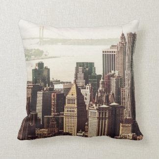 Horizonte del Lower Manhattan - visión desde el Mi Cojin
