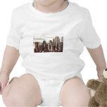Horizonte del Lower Manhattan - visión desde el Mi Camisetas