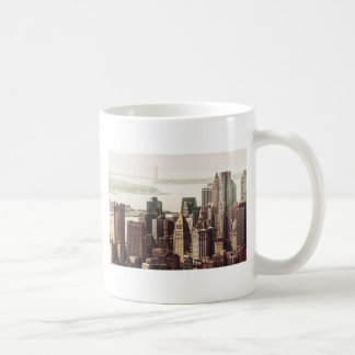 Horizonte del Lower Manhattan - visión desde el Taza Clásica