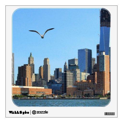 Horizonte del Lower Manhattan: WTC, Woolworth