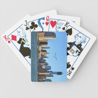 Horizonte del Lower Manhattan: WTC, Woolworth Barajas De Cartas
