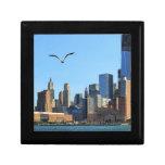 Horizonte del Lower Manhattan: WTC, Woolworth Cajas De Joyas