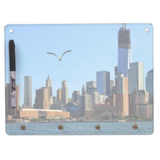 Horizonte del Lower Manhattan: WTC, Woolworth Pizarras Blancas De Calidad