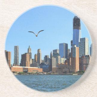 Horizonte del Lower Manhattan: WTC, Woolworth Posavasos Diseño