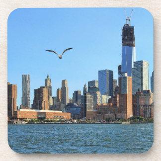 Horizonte del Lower Manhattan: WTC, Woolworth Posavasos De Bebidas