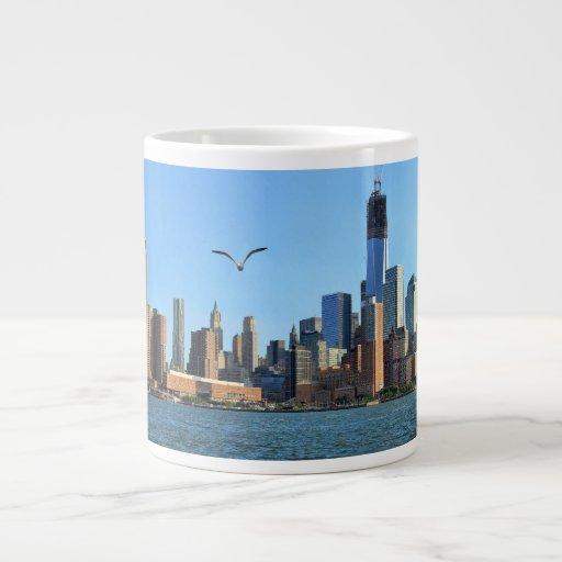Horizonte del Lower Manhattan: WTC, Woolworth Taza Grande