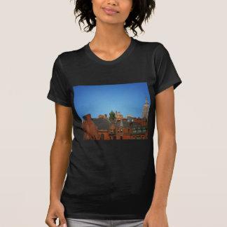 Horizonte del oeste del pueblo y el Empire State Remeras