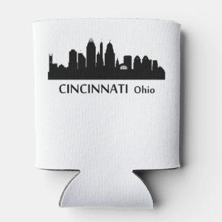 Horizonte del paisaje urbano de Cincinnati Enfriador De Latas