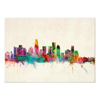 Horizonte del paisaje urbano de Los Ángeles Anuncio Personalizado