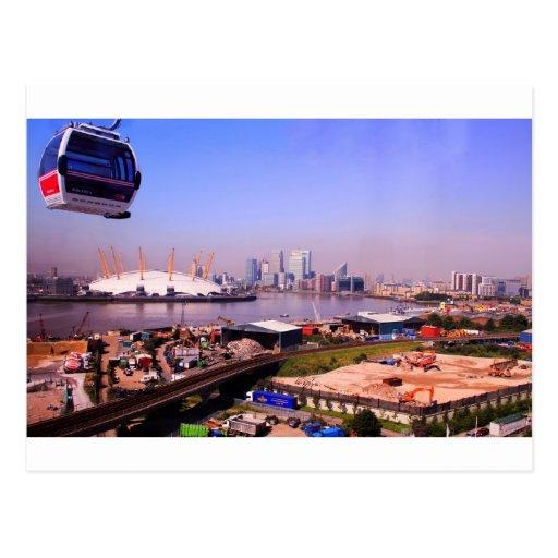 Horizonte del teleférico de los emiratos postales