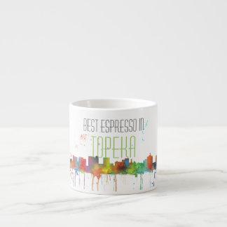 HORIZONTE del TOPEKA KANSAS - tazas del café