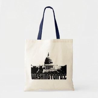 Horizonte del Washington DC Bolsa Tela Barata