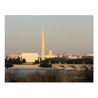 Horizonte del Washington DC Postales