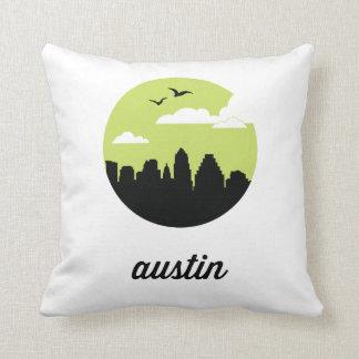 Horizonte el | Austin Tejas de Austin Cojin