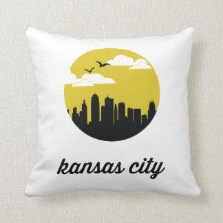 Horizonte el | Kansas de Kansas City Cojin