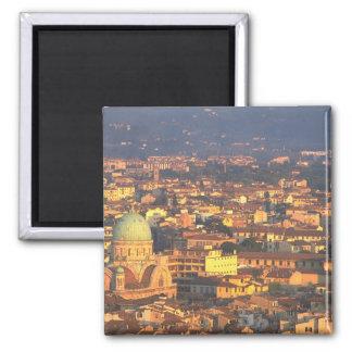 Horizonte Florencia Italia Imán Cuadrado